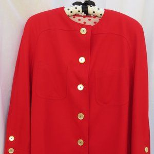 """Red Valentino """"Miss V"""" 3 Piece Suit Jacket/Skirt/T"""